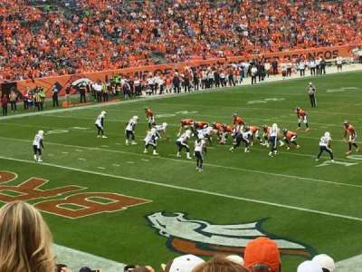 Empower Field at Mile High Stadium section 128