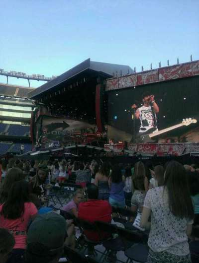 Gillette Stadium section A1
