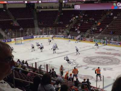 Giant Center section 122
