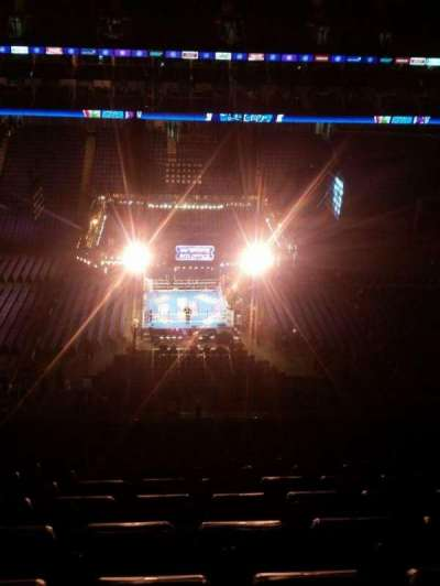 The O2 Arena, section: 419, rangée: S
