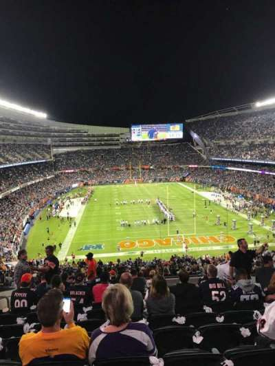 Soldier Field, section: 353, rangée: 12, siège: 12