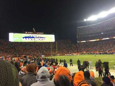 Empower Field at Mile High Stadium section 121