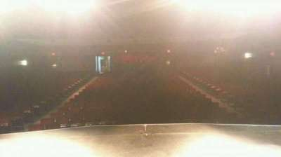 Landis Theater section center stage
