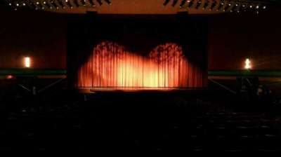 Landis Theater section orchestra center