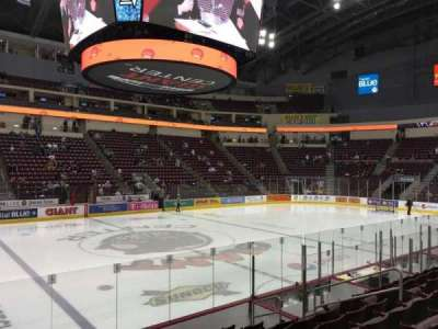 Giant Center section 107