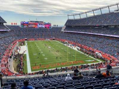 Empower Field at Mile High Stadium section 325
