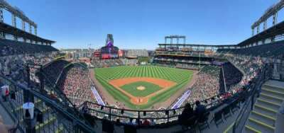 Coors Field section U330