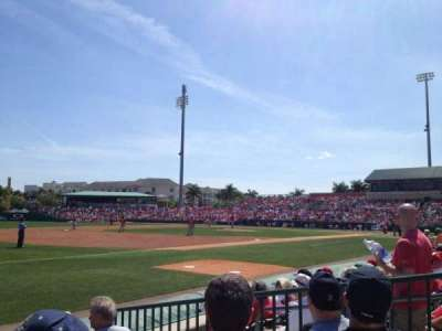Roger Dean Stadium, section: SRO, rangée: LF
