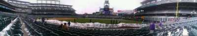Coors Field section 116