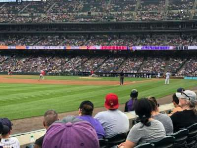 Coors Field section 145