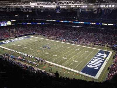 The Dome at America's Center section 435