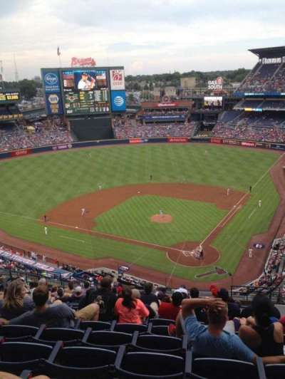 Turner Field section 404
