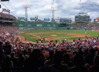 Fenway Park section Grandstand 19