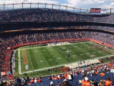 Empower Field at Mile High Stadium section 538