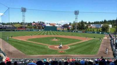 Cheney Stadium, section: H, rangée: 10, siège: 1