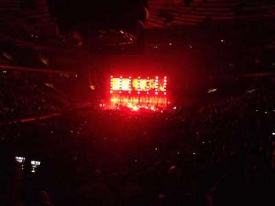 Madison Square Garden, section: 103, rangée: 14, siège: 20