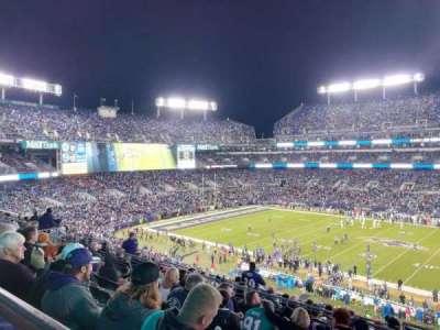 M&T Bank Stadium, section: 225, rangée: 10, siège: 2