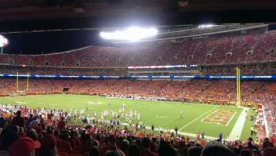 Arrowhead Stadium section 133