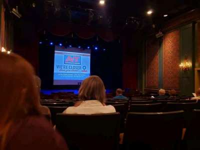 Sellersville Theater section First half