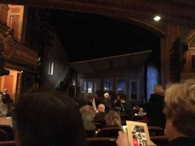 American Airlines Theatre, section: Orchestra, rangée: M, siège: 9
