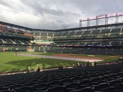 Coors Field section 146