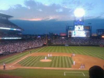 Coors Field section 223