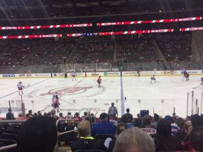 Prudential Center, section: 9, rangée: 13, siège: 16