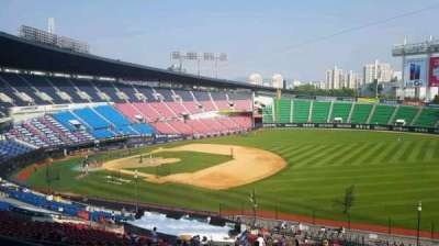 Jamsil Baseball Stadium, section: 305, rangée: 9, siège: 83