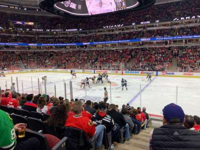 United Center section 110