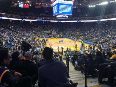 Oakland Arena section 123