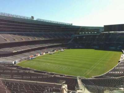 Soldier Field, section: 348, rangée: 12, siège: 2