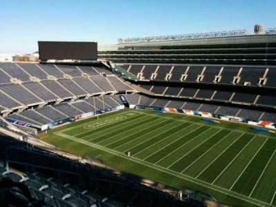 Soldier Field, section: 434, rangée: 19, siège: 10