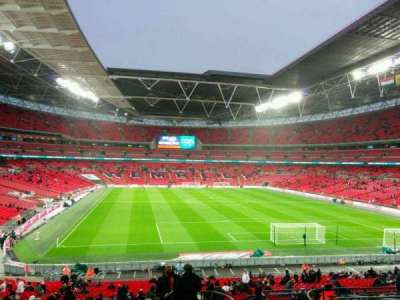 Wembley Stadium, section: 135, rangée: 42, siège: 50
