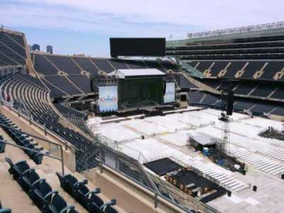 Soldier Field, section: 434, rangée: 4, siège: 9