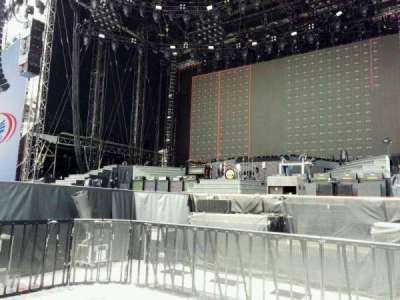 Soldier Field, section: pit right