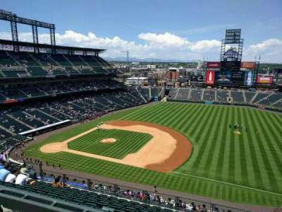 Coors Field section U319