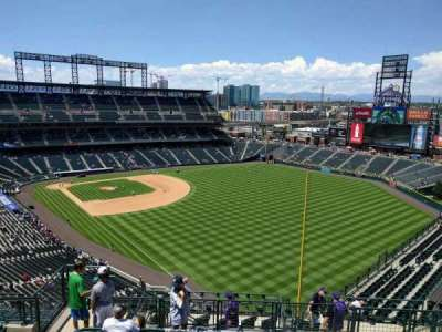 Coors Field section U311