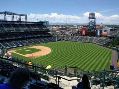 Coors Field section U314