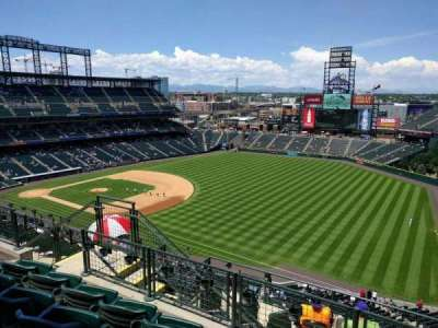 Coors Field section U315
