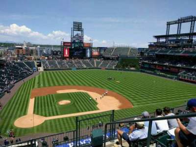 Coors Field section L325