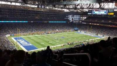 Ford Field, section: 325, rangée: 15, siège: 23