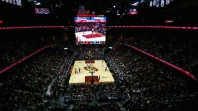 Quicken Loans Arena, section: 217, rangée: 2, siège: 4