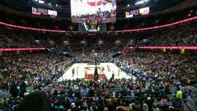 Quicken Loans Arena, section: 117, rangée: 14, siège: 8
