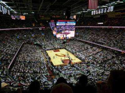 Quicken Loans Arena, section: 232, rangée: 3, siège: 11