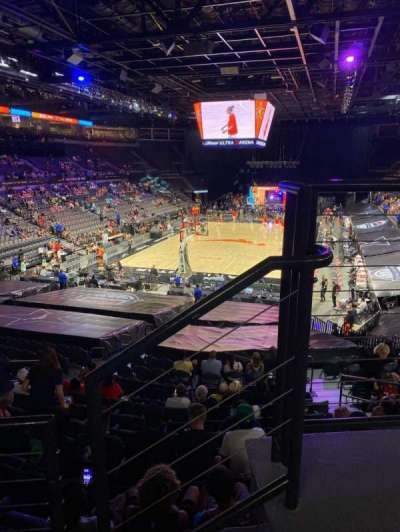 Michelob Ultra Arena section 214