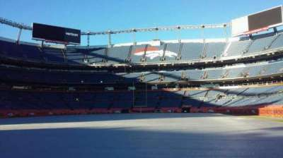 Sports Authority Field at Mile High, section: 130, rangée: 1