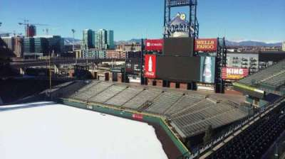 Coors Field section L305