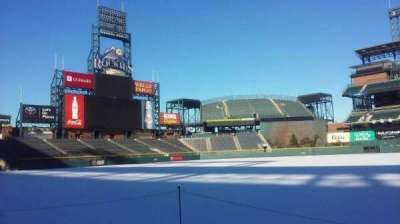 Coors Field section 139