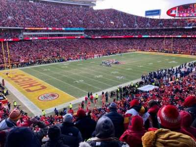 Arrowhead Stadium section 207