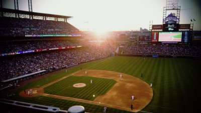 Coors Field section L319